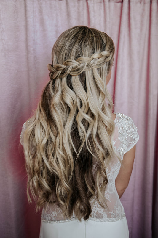 wedding hairdresser Cornwall